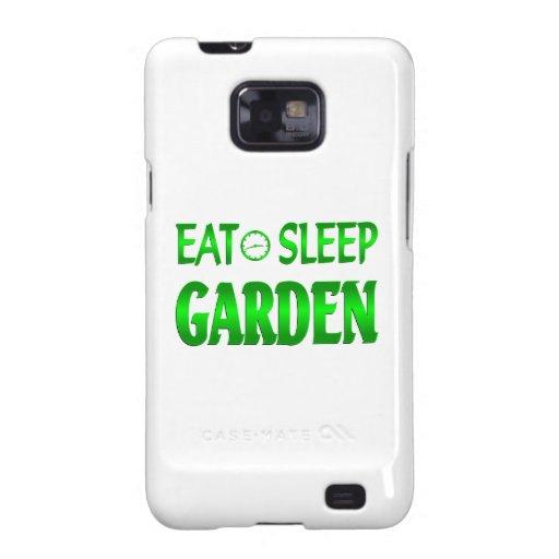 Eat Sleep Garden Samsung Galaxy S2 Cover