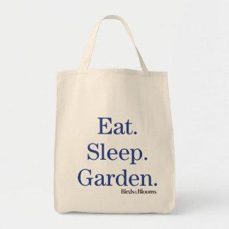 Eat. Sleep. Garden. Tote Bag