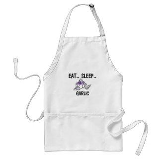 Eat Sleep GARLIC Apron