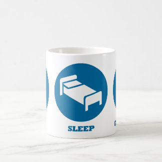 Eat Sleep Genealogy Classic White Coffee Mug
