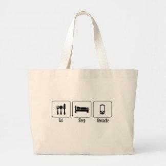 Eat, Sleep, Geocache Bags
