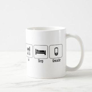Eat, Sleep, Geocache Coffee Mug
