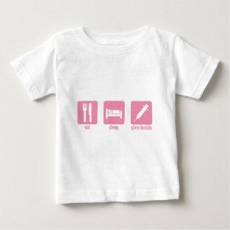 Eat - Sleep - Give Insulin Baby T-Shirt