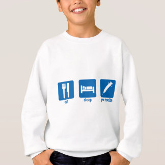 Eat - Sleep - Give Insulin Sweatshirt
