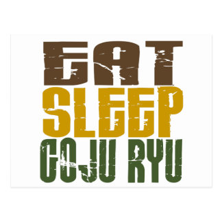 Eat Sleep Goju Ryu 1 Postcard