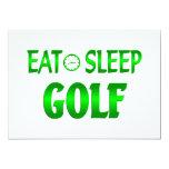 Eat Sleep Golf Announcement