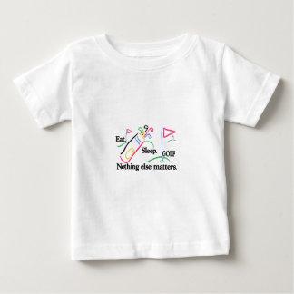 Eat Sleep Golf Baby T-Shirt