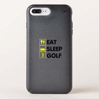 Eat Sleep Golf  Funny Golfing Gift  Dad Grandpa Speck iPhone Case
