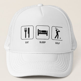 Eat Sleep Golf Hat
