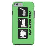 eat sleep golf iPhone 6 case