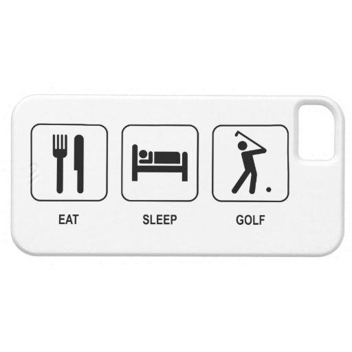 Eat Sleep Golf iPhone SE/5/5s Case