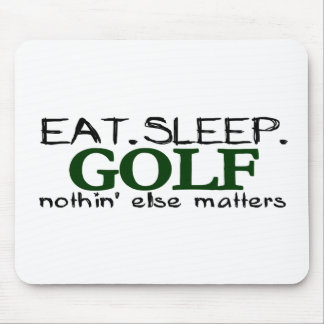 Eat Sleep Golf Mouse Pad