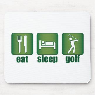 Eat, Sleep, Golf Mouse Pad