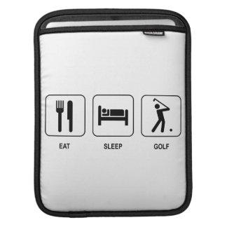 Eat Sleep Golf Sleeve For iPads