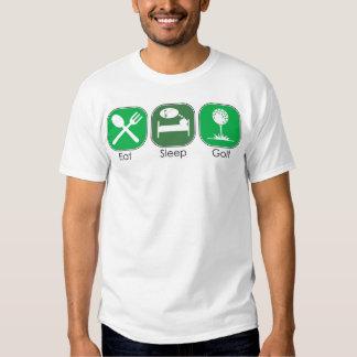 Eat Sleep Golf T Shirt