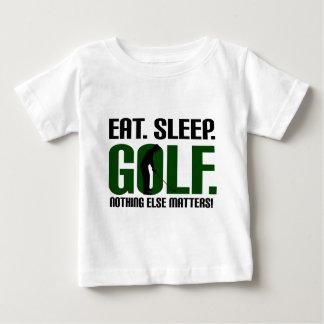Eat sleep golf t shirts and tee