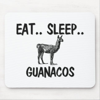 Eat Sleep GUANACOS Mouse Pad