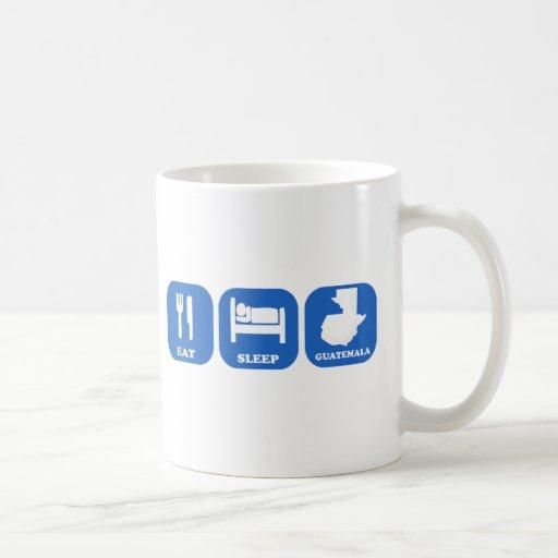 Eat Sleep Guatemala Classic White Coffee Mug
