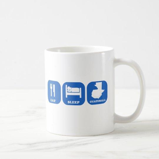 Eat Sleep Guatemala Coffee Mug