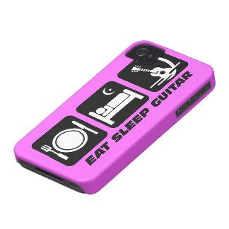 eat sleep guitar iPhone 4 Case-Mate case
