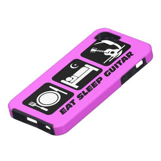 eat sleep guitar iPhone SE/5/5s case