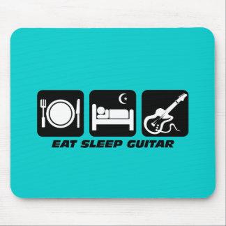 eat sleep guitar mouse pad