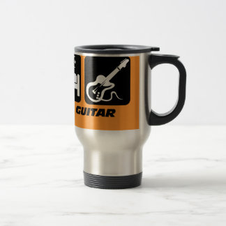 eat sleep guitar travel mug