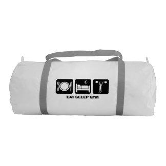 eat sleep gym gym duffle bag