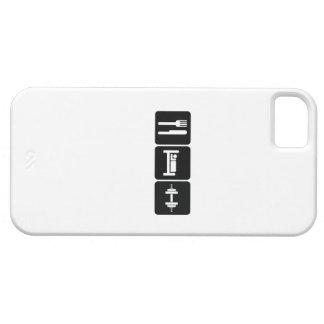 Eat Sleep Gym iPhone SE/5/5s Case