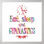 Eat, Sleep Gymnastics Posters