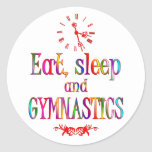 Eat, Sleep Gymnastics Sticker