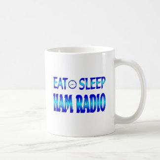 Eat Sleep Ham Radio Coffee Mugs