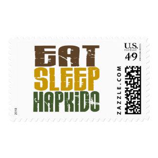 Eat Sleep Hapkido 1 Stamp