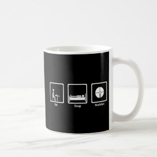 Eat, Sleep, Headshot - FPS Gamer Coffee Mug