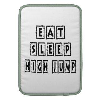 Eat Sleep High Jump MacBook Air Sleeve
