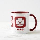 Eat. Sleep. Hockey. Mug