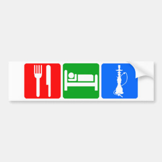 Eat,Sleep,Hookah Bumper Sticker