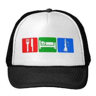Eat,Sleep,Hookah Trucker Hats