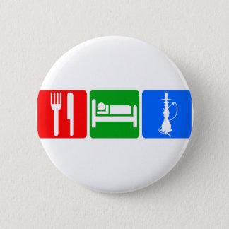 Eat,Sleep,Hookah Pinback Button