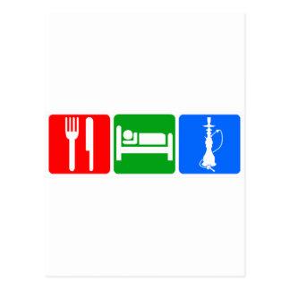 Eat,Sleep,Hookah Postcards