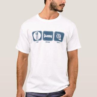 eat sleep horn T-Shirt