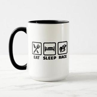 Eat sleep Horse race Mug