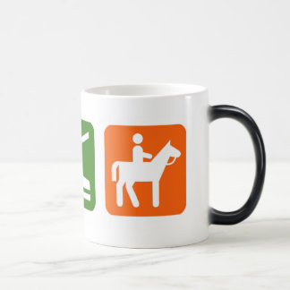 Eat Sleep Horseback Riding Magic Mug