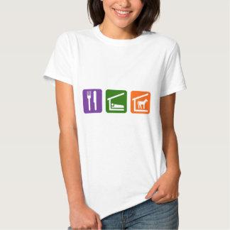 Eat Sleep Horses T-shirt