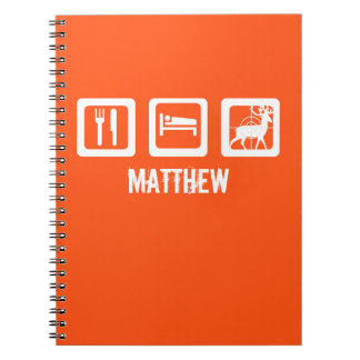 Eat Sleep Hunt Notebook