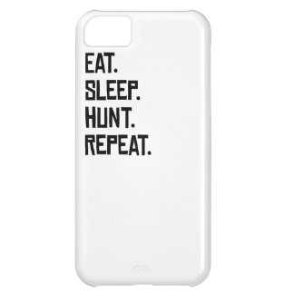 Eat Sleep Hunt Repeat Case For iPhone 5C