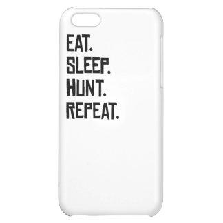 Eat Sleep Hunt Repeat iPhone 5C Covers