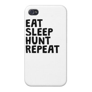 Eat Sleep Hunt Repeat Cover For iPhone 4