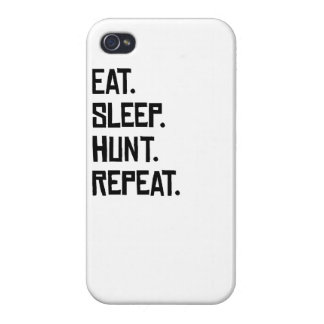 Eat Sleep Hunt Repeat Covers For iPhone 4