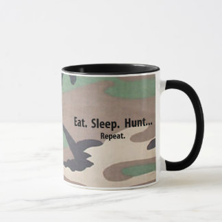Eat. Sleep. Hunt.  Repeat! Mug